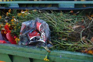 Kvapų problema: netinkamai tvarkomos žaliosios atliekos