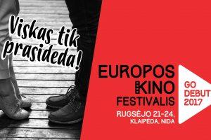 """Europos kino festivalis """"GoDebut"""" kviečia į pajūrį"""