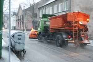Klaipėdos gatvėse pasirodė pirmieji barstytuvai