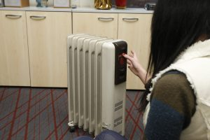 Klaipėdietės bute – stingdantis šaltis