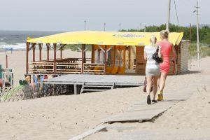 Pliažai pajūrio verslininkų nedomina