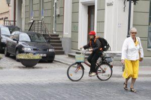 Klaipėdoje – didesnis dėmesys dviračiams