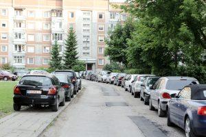 Kaimynų nesantaika: automobilį apipylė unitazo valymo skysčiu