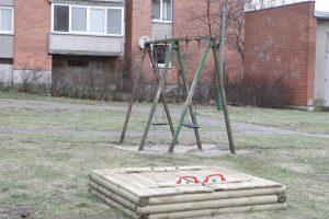 Vaikų aikštelėms ieškos prižiūrėtojo