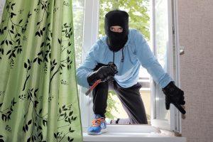 Vilnietis savo bute pats sulaikė vagį