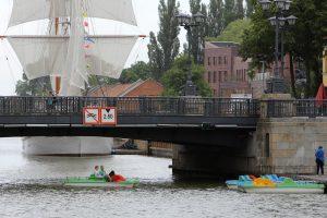 Danės upėje draus laivybą