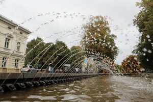 Rengiasi išjungti miesto fontanus