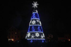 Klaipėdos eglutės įžiebimas – tiesiogiai internetu