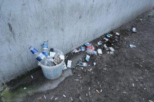 Rūkantieji kankina miesto gyventojus