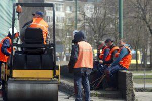 Centrinėje gatvėje – remonto darbai