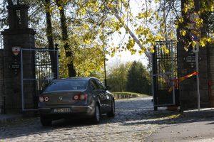 Klaipėdos kapines saugos užkardai