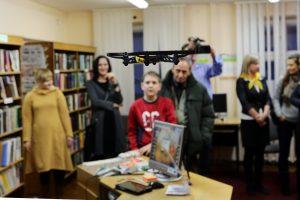 Bibliotekoje pristatytos ateities technologijos