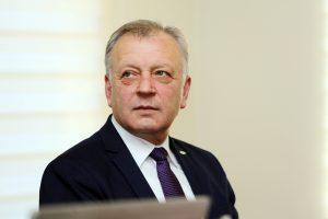 Telšių meras P. Kuizinas paliko Darbo partiją