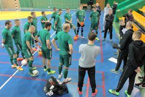 Lietuvos salės futbolo rinktinė žais su slovakais