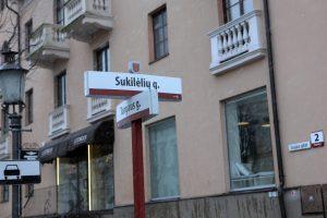 Naujai gatvei – Žaibo vardas
