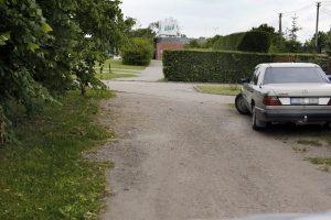 Planuose – bevardės gatvelės atnaujinimas
