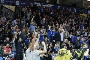 Lietuviai pasiilgo krepšinio: LKL kovų žiūrimumas – rekordinis