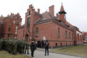 Rinks Klaipėdos universiteto rektorių
