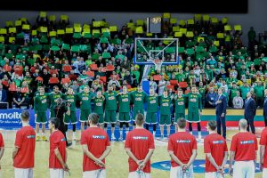 Rugsėjį – dar vienos kontrolinės Lietuvos krepšinio rinktinės rungtynės
