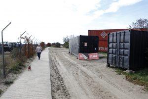 Dėl konteinerių pajūryje – popierinis karas