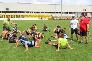 Tarptautinio regbio-7 turnyro nugalėtojų taures kėlė Lietuvos ir Izraelio komandos