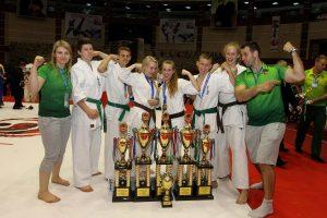 Klaipėdiečiams – Europos karatė kiokušin čempionato medaliai