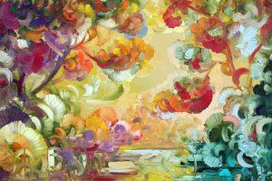 Siautulinga ir lyriška M. M. Danio tapyba