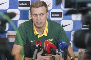 D. Adomaitis paskelbė Lietuvos krepšinio rinktinės sudėtį