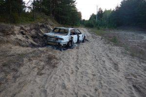 Po automobilio gaisro Klaipėdos rajone – šiurpūs įtarimai