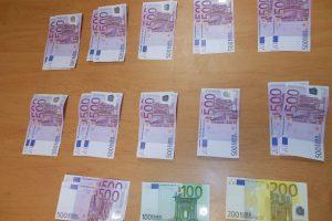Rusijos pilietis Nidoje įkliuvo su grynųjų pinigų kontrabanda