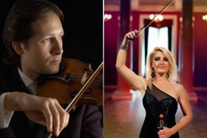 Kintų muzikos festivalyje - netikėtas smuikininkų duetas