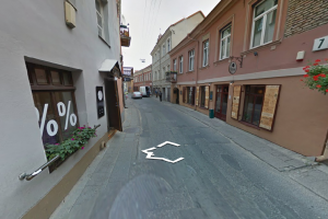 Sostinės A. Savičiaus gatvėje savaitgaliais bus draudžiamas automobilių eismas