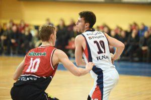 Lemiamu metu nepalūžę JSK krepšininkai išsivežė pergalę iš Vilniaus