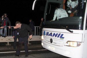 Po išpuolio sustabdytas Turkijos futbolo čempionatas