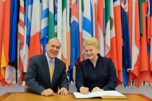 Lietuva tikisi 2017 metais įstoti į EBPO