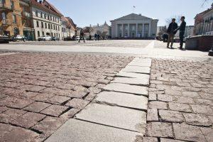 Penktadienį ir šeštadienį bus ribojamas eismas dalyje Didžiosios gatvės (schema)