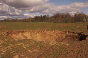 Kas vyksta žemės gelmėse, žino tik geologai