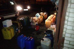 Kauniečio garaže rado 700 l dyzelino