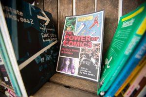 Komiksų skaitykla jau turi nuolatinius namus