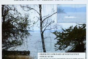 Švedijos premjeras: turime įrodymų apie povandeninį laivą