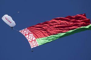 Lietuvai įteikta protesto nota dėl Baltarusijos oro erdvės pažeidimo