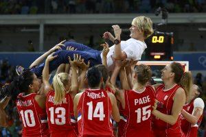 Moterų krepšinio turnyro bronzą iškovojo Serbijos rinktinė