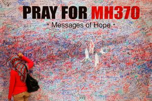 Netoli numanomos Malaizijos lėktuvo sudužimo vietos aptikti neaiškūs objektai
