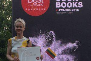 Lietuvės knyga – geriausia pasaulyje