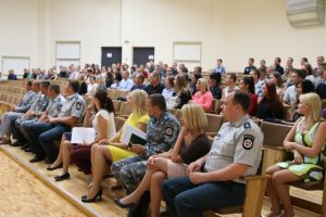 Policijos mokykloje daugėja merginų