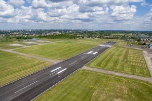S. Dariaus ir S. Girėno aerodrome – naujutėlis pakilimo takas
