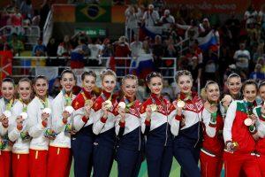Penktasis iš eilės Rusijos triumfas meninės gimnastikos varžybose