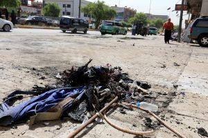 Irako sostinėje per sprogdinimą žuvo penki žmonės