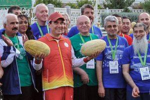 Turkmėnijoje prieš sporto žaidynes uždrausta prekiauti alkoholiu