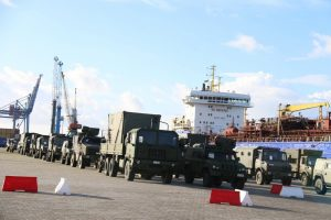 Į NATO batalioną Lietuvoje atvyko pirmieji Vokietijos ir Belgijos kariai